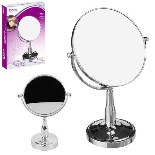 """Espelho de mesa dupla face com pedestal 7"""" WX4097"""