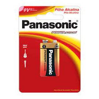 Bateria 9V Panasonic Alcalina 1015430