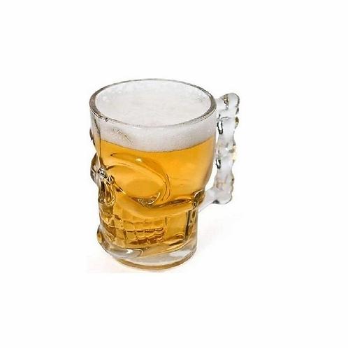 Caneca Caveira Transparente 500 ml Wincy VDA12004