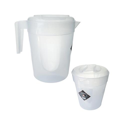 Jarra plástico 3,8L Transparente Inplast