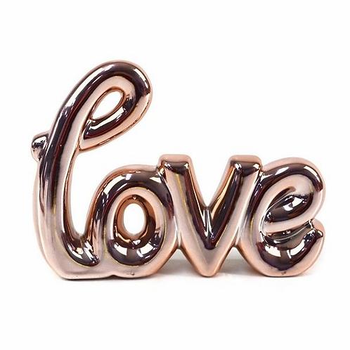 Enfeite cerâmica Love 96435