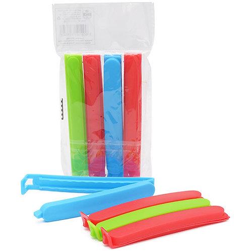 Lacra / veda embalagem de plástico multiuso colors com 4 peças