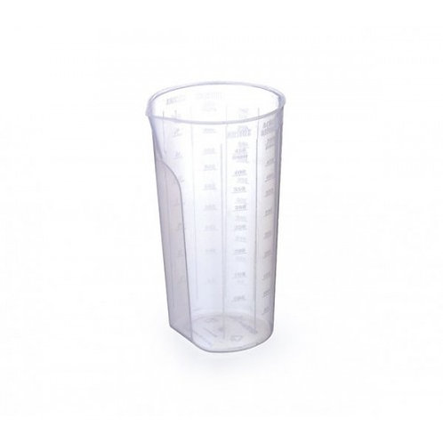 Copo de medida transparente inplast 5509
