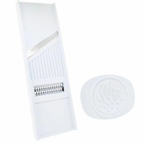 Cortador de Legumes Dupla Face Branco Keita CD01
