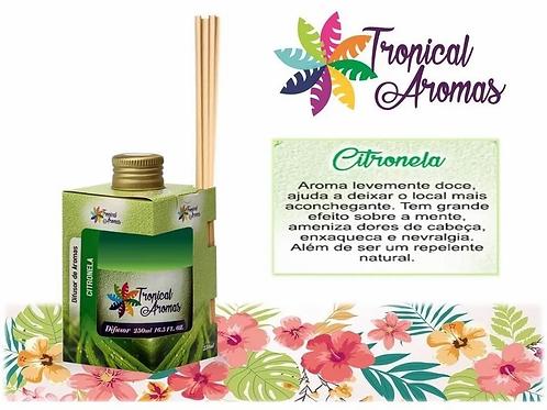 DIFUSOR TROPICAL AROMAS 250ML CITRONELA
