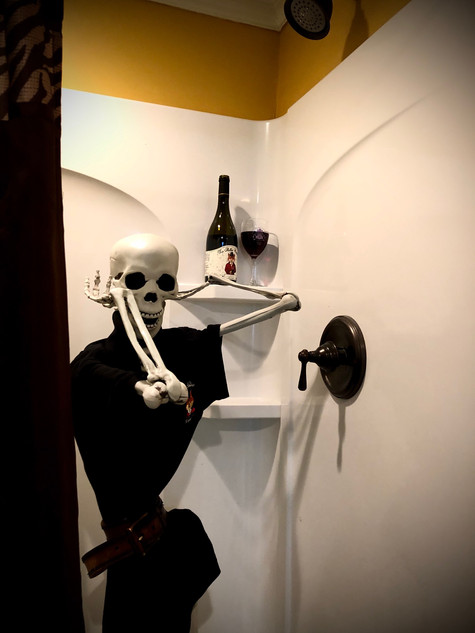 Skeleton in the Shower
