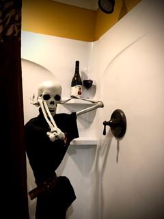 Skeleton in the Shower