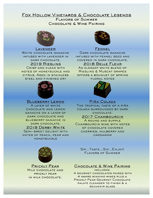 Choclate & Wine Flavors of Summer 2021.j