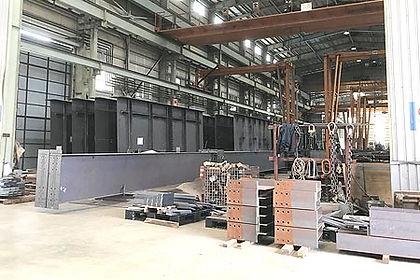 鋼構造物 兵庫県,鋼構造物 製作 兵庫県,製作 対応