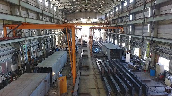 製作の流れ 誠和鋼販,鋼構造物,橋梁,