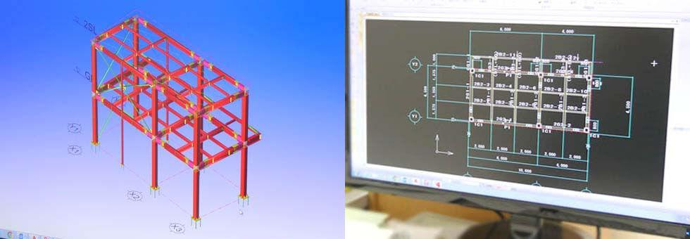 鉄骨専用CAD,精緻な原寸,建築鉄骨構造,鉄骨構造,CAD[
