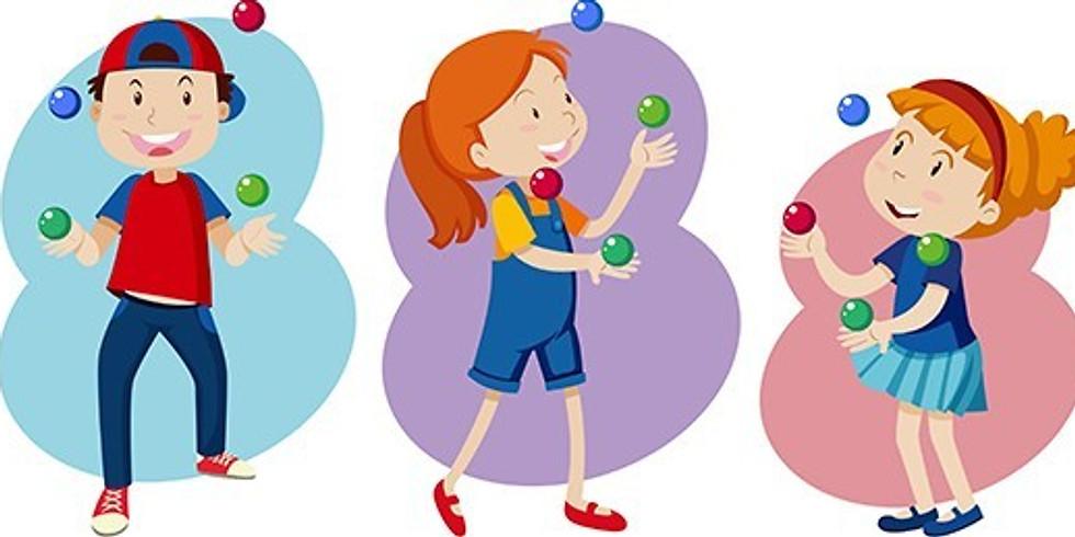 Activité jonglerie (4 à 10 ans)