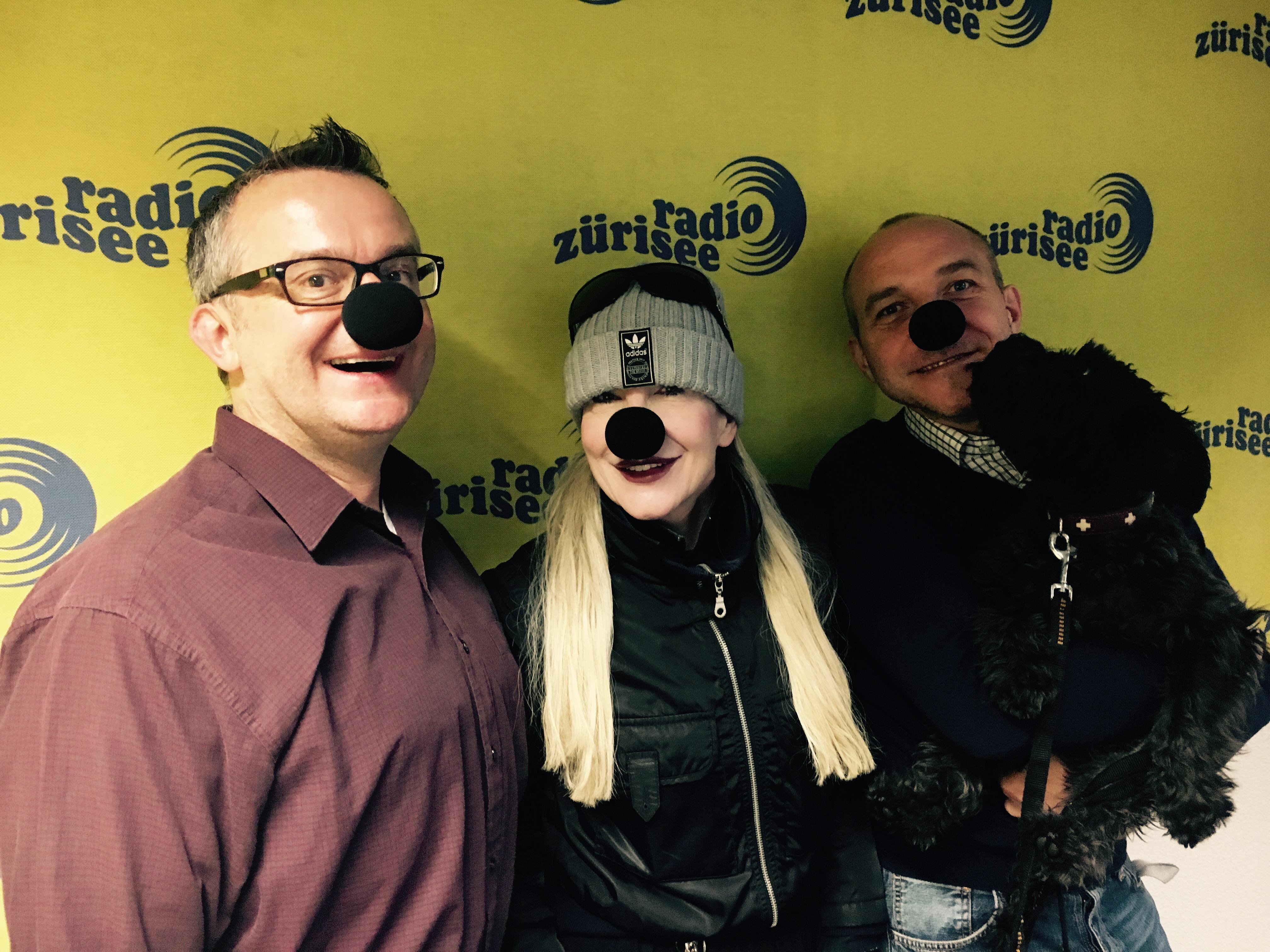 Black Nose® at Radio Zürisee