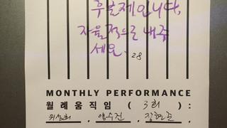 월례움직임 | Monthly Performance