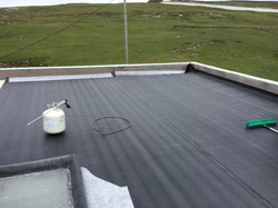 RubberBond Adhered To Insulation
