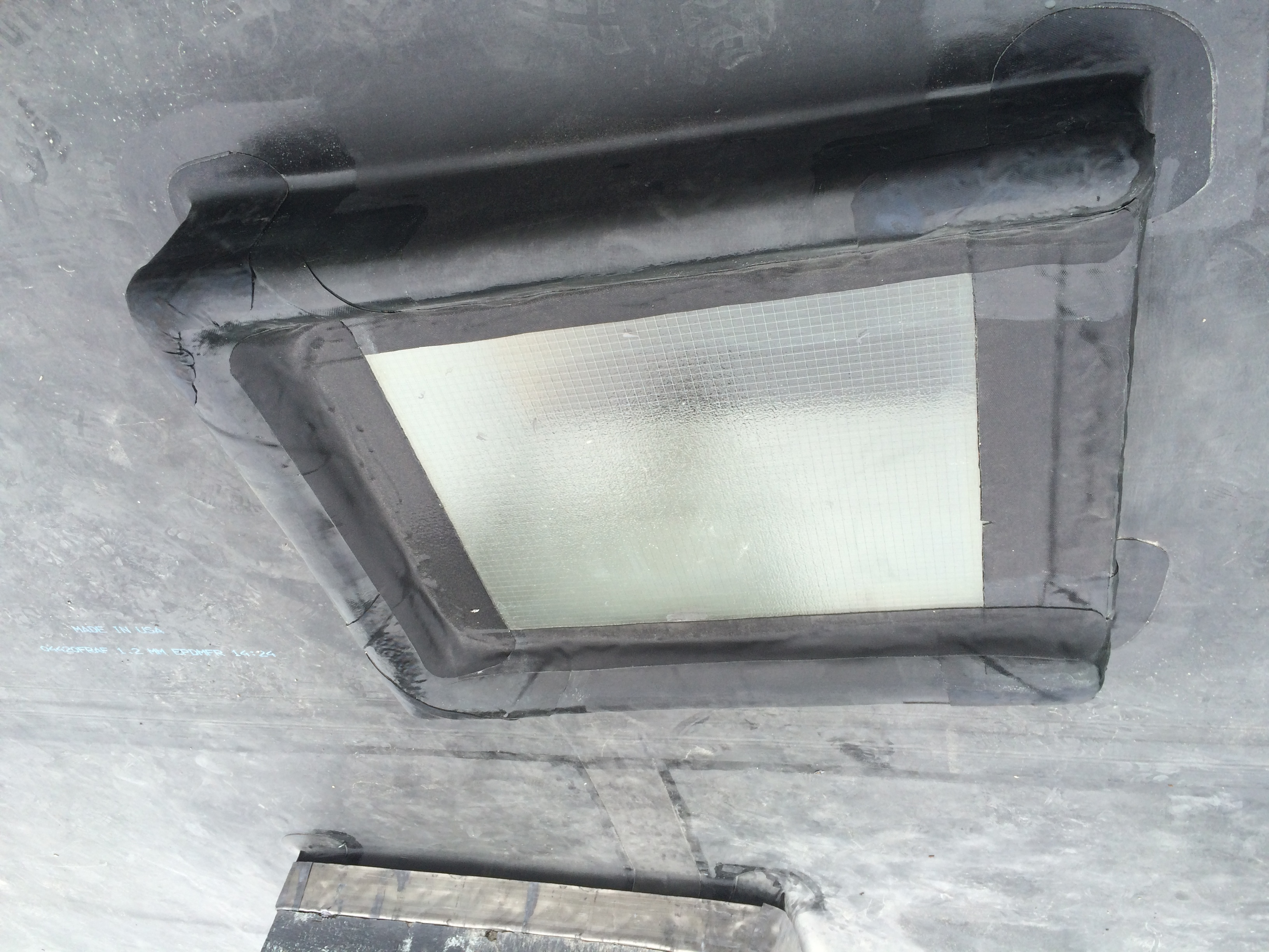 Existing Skylight Sealed