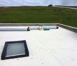 Rolls Ready For Waterproofing