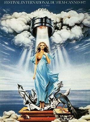 Affiche Festival De Cannes 1977