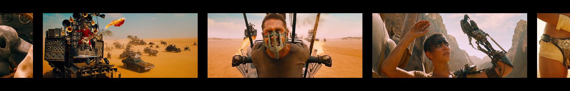 "Pellicule ""Mad Max Fury Road"""