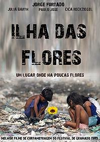 """Affiche """"L'Île Aux Fleurs"""""""