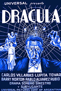 """Affiche """"Drácula"""""""
