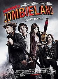 """Affiche """"Bienvenue À Zombieland"""""""