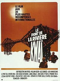 """Affiche """"Le Pont De La Rivière Kwaï"""""""
