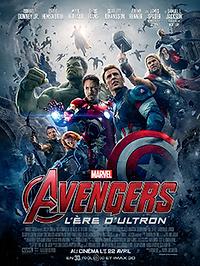 """Affiche """"Avengers : l'Ère d'Ultron"""""""