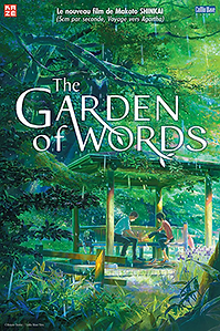 "Affiche ""The Garden Of Words"""