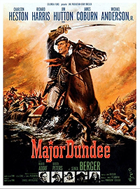 """Affiche """"Major Dundee"""""""