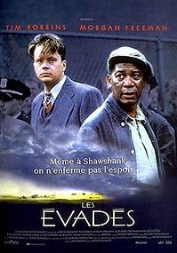 """Affiche """"Les Évadés"""""""