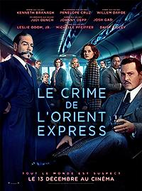 """Affiche """"Le Crime De l'Orient-Express"""""""