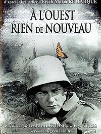 """Affiche """"À l'Ouest, Rien De Nouveau"""""""