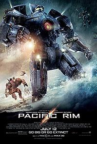 """Affiche """"Pacific Rim"""""""