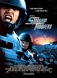 """Affiche """"Starship Troopers"""""""