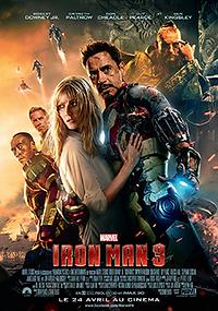 """Affiche """"Iron Man 3"""""""