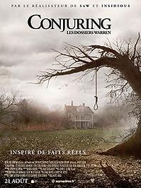 "Affiche ""Conjuring : Les Dossiers Warren"""