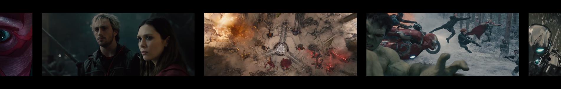 """Pellicule """"Avengers : l'Ère d'Ultron"""""""