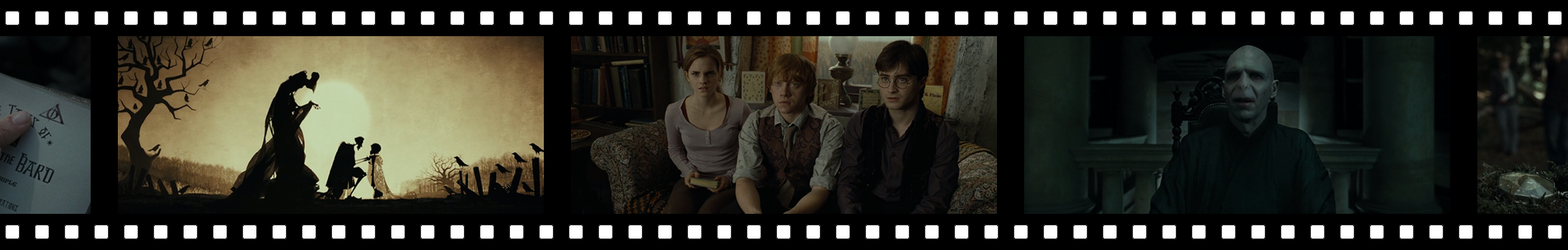 """Pellicule """"Harry Potter Et Les Reliques De La Mort - Partie 1"""""""