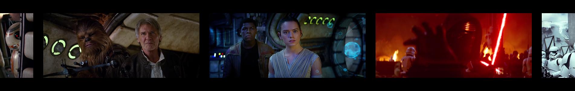 """Pellicule """"Star Wars - Épisode VII : Le Réveil De La Force"""""""
