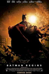 "Affiche ""Batman Begins"""