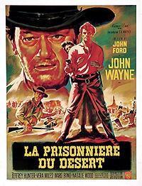 """Affiche """"La Prisonnière Du Désert"""""""
