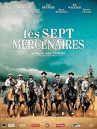"""Affiche """"Les Sept Mercenaires"""""""