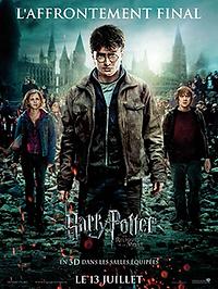 """Affiche """"Harry Potter Et Les Reliques De La Mort - Partie 2"""""""