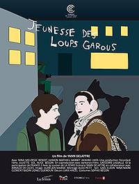 """Affiche """"Jeunesse Des Loups Garous"""""""