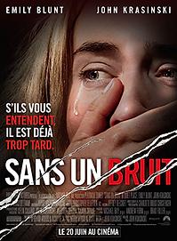 """Affiche """"Sans Un Bruit"""""""