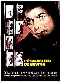 "Affiche ""L'Étrangleur De Boston"""