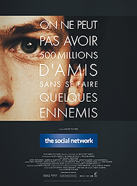 "Affiche ""The Social Network"""