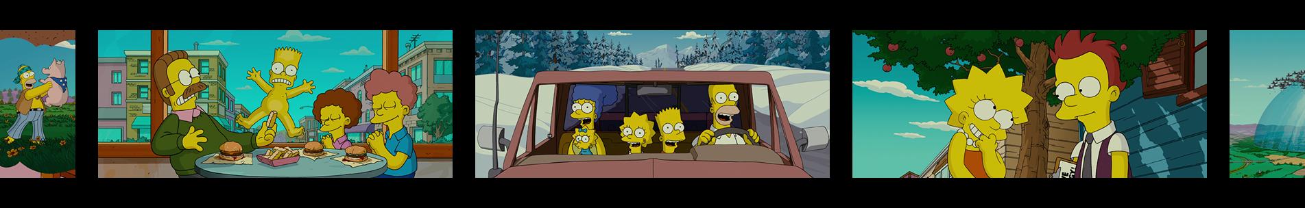"Pellicule ""Les Simpson : Le Film"""