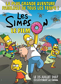 """Affiche """"Les Simpson : Le Film"""""""